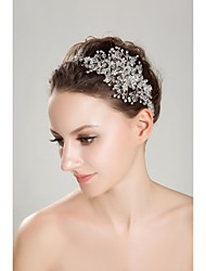 Women's Rhinestone Crystal Headpiece-Wedding Special Occasion Outdoor Headbands
