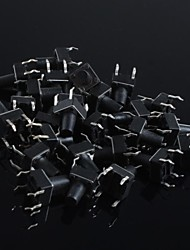 6x6x9mm Micro Switch Button Touch Switch Small Key-Press Switch(20Pcs)