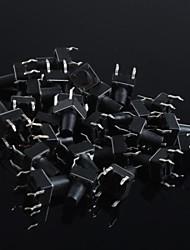6x6x8mm микро кнопка включения сенсорный выключатель ключик пресс включения (20шт)