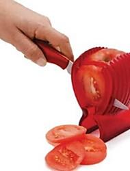 fatiador de tomate, de plástico + aço inoxidável 27 × 10,5 × 11 cm (10,7 × 4,2 × 4,4 polegadas)