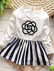 vestido de la princesa del hilado neto manera de la muchacha