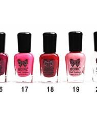 bowknot unha polonês de 20 cores para escolher 16-20 # 8ml