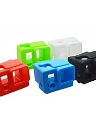 4 Color Options Silicone Dustproof Protective Skin Case Cover for GoPro HD Hero 3