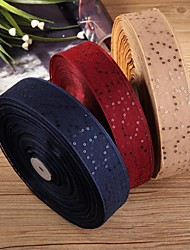 Gorgeous Sequin Organza Ribbon (More Colors)