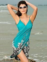Frauen sexy Vertuschung-Strand-Sommerkleid