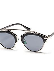 Customized 100% UV Round Alloy Retro Prescription Sunglasses