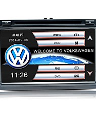 Wince 6.0 7inch 2 Din Car dvd Wholesale for tiguan with SWC IPAS 3G 1.2G CPU Gps map HD 1080P RDS