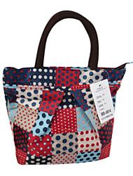 Scrambled Pattern Cosmetic Bag