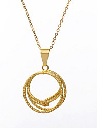 Yue Women's Causual Fashion Hoops Necklace