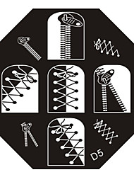 Nail Art Stamp Stamping Image Template Plate D Series NO.5