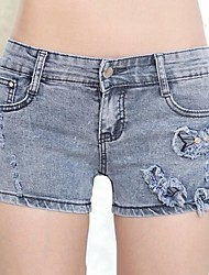 Women's Casual Jeans Shorts Pants