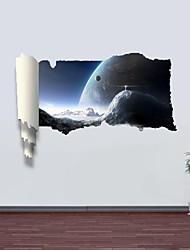 Adesivos de parede adesivos de parede 3D, as maravilhas do universo de parede decoração adesivos de vinil