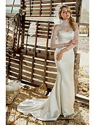 Abito da sposa - Bianco Tubino A lupetto