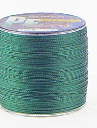 500M / 550 Yards PE Braided Line / Dyneema / Superline Fishing Line Dark Green 70LB / 80LB 0.40mm,0.45mm mm ForSea Fishing / Fly Fishing
