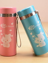 Fashion Cartoon Mugs,Stainless steel65*65*175mm(Random Delivery)