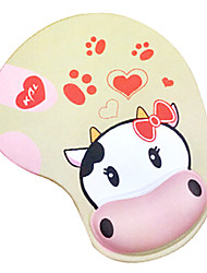 SHARKOON Love Dairy Cow Mousepad Wrist Cushion