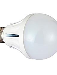 9W E26/E27 Lâmpada Redonda LED 18 SMD 5730 780 lm Branco Quente Regulável AC 220-240 V