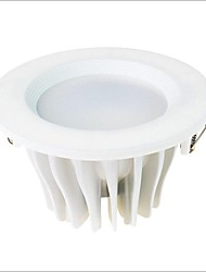 6W LED COB Recessed Light 1 Light Modem White Painting Aluminum 120° Beam Angle (AC180-240V)