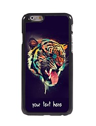 "Personalized Case Head of Tiger Design Metal Case for iPhone 6 (4.7"")"
