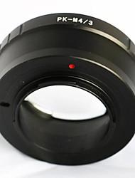 pentax pk k montagem da lente para Olympus Panasonic micro 4/3 adaptador M43 GH3 e-p5 GF6