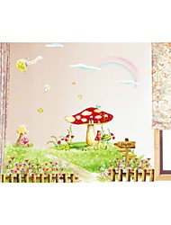 Wall Stickers Wall Decals, Style Neverland PVC Wall Stickers