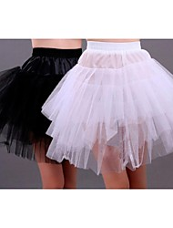 Sexy Short Mini Bridal Petticoat Gown Crinoline Underskirt Wedding More Colors