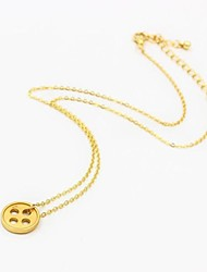 Women's European and American Minimalist Clasp Necklace