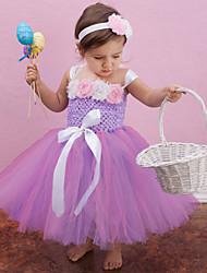 Girl's Flower Dress Baby Girl Dress Princess Dress Long-sleeve Dress