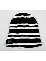 mz015 sombrero elegante del bluetooth de música inalámbrico con llamadas manos libres