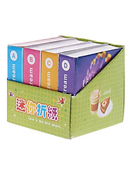 4 Pack Colorful Origami