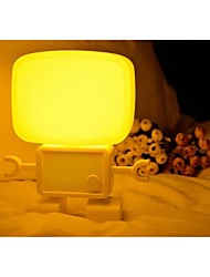Robot Sound and Light Control Nightlight of Head Bedroom Lamp/ Baby Lamp Led Table Lamp /Gift Lamp Valentine's