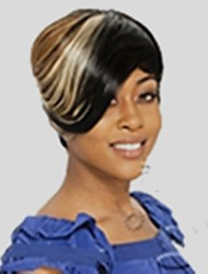 Popular Freeshipping Synthetic cosplay&Party Short Colorful Hair Wigs