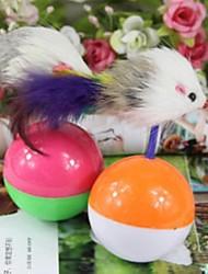 Gatos Juguetes Interactivo / Ratón de Juguete Vaso Plástico
