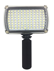 hy96 led luce video 9W 850lm 5600K / 3200K regolabili per dslr luce video macchina fotografica con manico luce led
