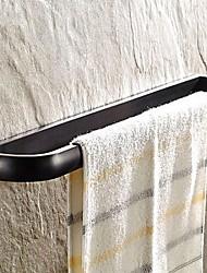 huilé barre de serviette en bronze