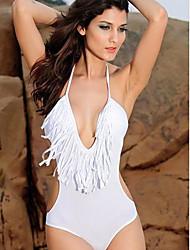 Bikinis/Una sola prenda/Accesorios de natación/Blusa Traslúcida ( Nilón/Spandex )- Push up - Sin mangas para Mujer