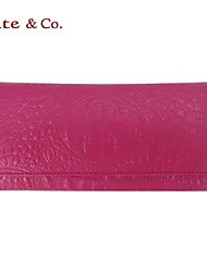 Women Formal/Sports/Casual/Event/Party Cowhide Zipper Wristlets