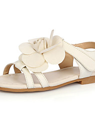 Sandales ( Beige ) - Cuir - Confort/Escarpin-sandale