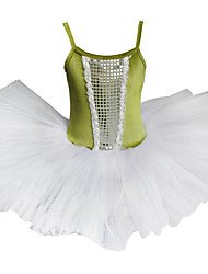 Kids' Dancewear Tops / Tutus Children's Tulle / Velvet Performance Sleeveless