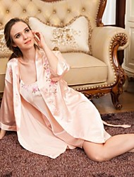 Satin/Polyester Sexy  Casual/Party Sleepwear Set (More Colors)