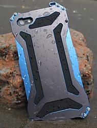 trasformatore di metallo freddo impermeabile e antipolvere e anti raschia posteriore per iPhone 6S 6 Plus SE 5s 5