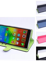 Fashion Quality Design Artificial Leather  for Lenovo Vibe Z2