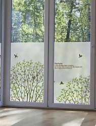 """60 * 80cm (24 """"w * 31"""" l) givré autocollants pour fenêtres - Grove"""