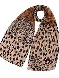 Unique Leopard Chiffon Ladies Hot Fashion Patterns Scarf