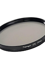 TIANYA® 77mm CPL Circular Polarizer Filter for Canon 24-105 24-70 I 17-40 Nikon 18-300 Lens