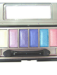 Latest Three-dimensional Colorful 6 Colors Eye Shadow