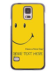caja del teléfono personalizado - tiene una caja de metal día agradable diseño para i9600 Samsung Galaxy S5