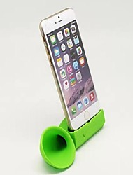 "BEBONCOOL  Soft Silicone Horn Stand Speaker Amplifier Fit for Iphone 6 5.5""  (Green)"