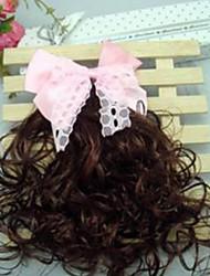 Girl's Pretty Bowknot Wig Hair Clip(Random Color)