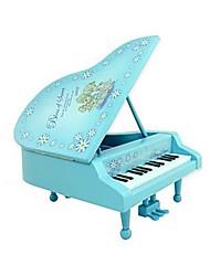 piano musicale carillon strumento per il regalo (colore casuale)
